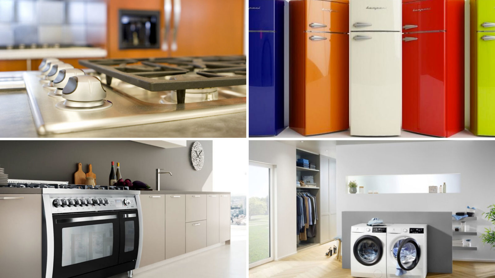Vendita e assistenza cucine a gas e grandi elettrodomestici