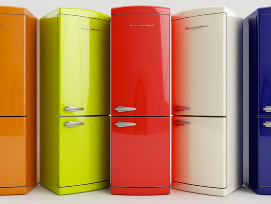 vendita frigoriferi colorati milano